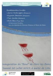 Read more about the article En 2013 inauguration du Bowl de Mers les Bains (80)