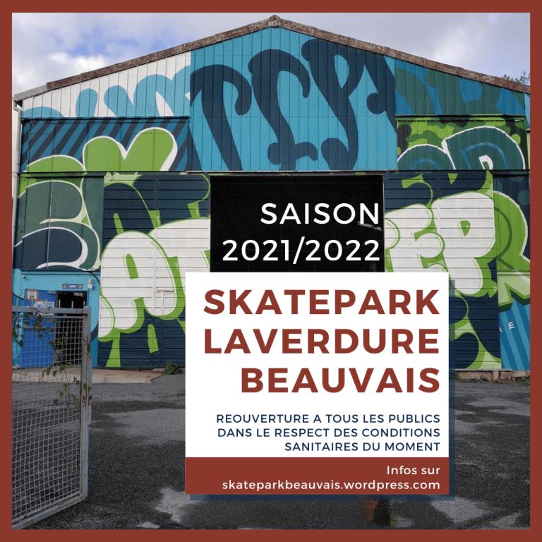 Read more about the article Rentrée 2021 au skatepark laverdure Beauvais