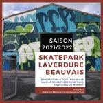 Rentrée 2021 au skatepark laverdure Beauvais