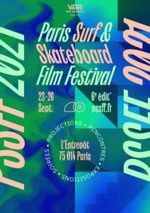 Read more about the article #6 Paris Surf et Skateboard Film Festival Paris