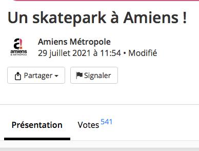 You are currently viewing Les votes sont clos pour voter pour le projet de skatepark à Amiens (80)