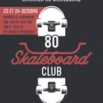 Au 80100 skatepark, stage de skateboard aux vacances de la Toussaint