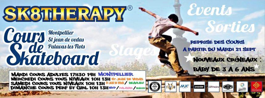 Cours Skateboard Montpellier