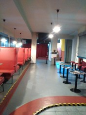 'The Diner' - part of the reception will be here