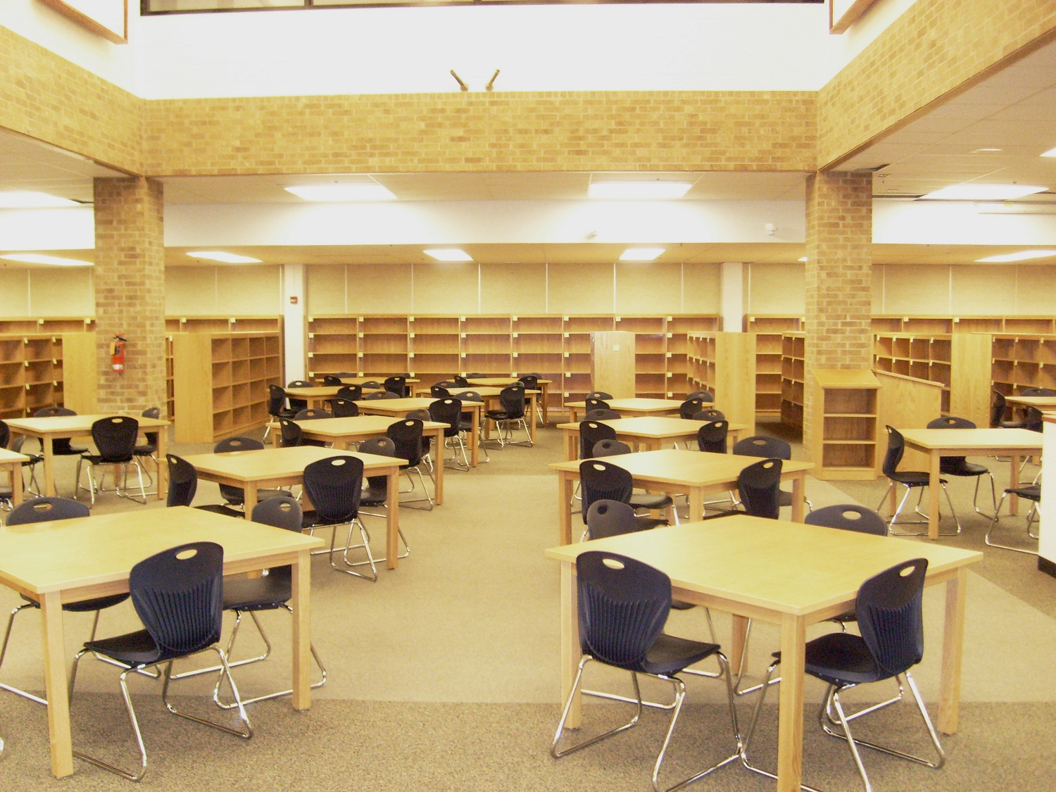 Clark High School Library