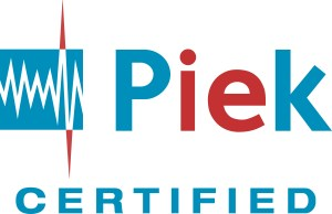 PIEK certified, the sound level may not exceed 60 dB
