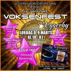 Voksenfest i Uggerby for 3. år i streg