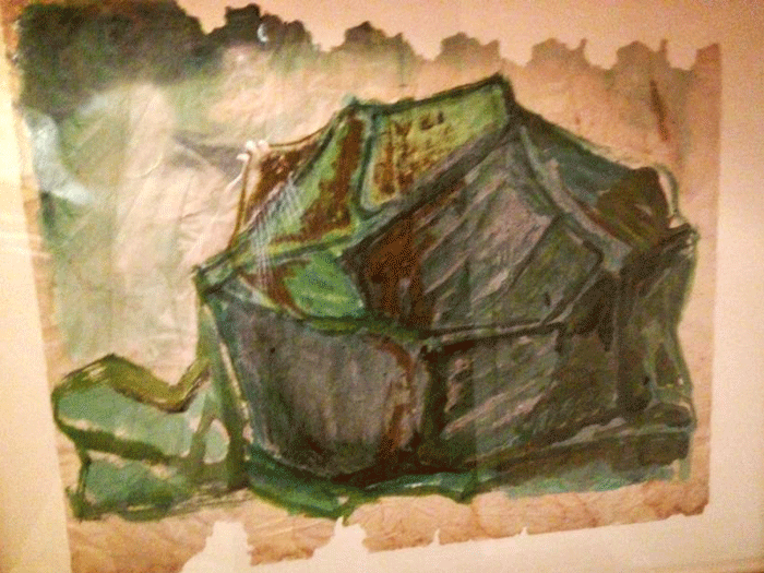 Morris Graves_Army Tent_Cassera Art Lounge_Skagit Art Music