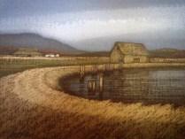 Richard Gilkey_Skagit Landscape_Que Sera Art Lounge_La Conner_Skagit Art Music