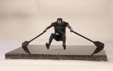 Sculptor Robert Gigliotti Rower Skagit Art Music