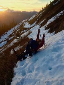 Snowshoeing Skagit County Trekking Poles