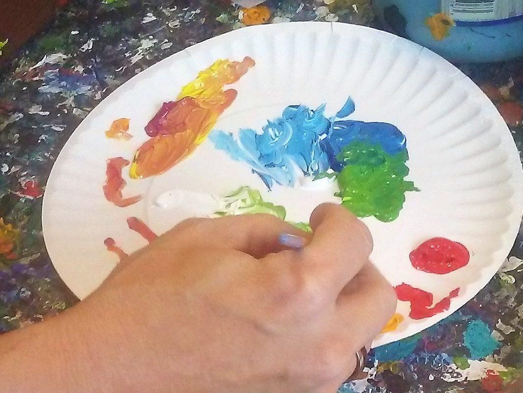 Ben Mann Artist At Work