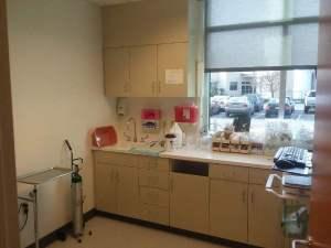 PeaceHealth Lab Area Inside walk In Clinic