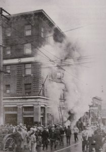 Hotel Windsor Fire March 1926