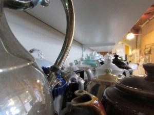 Old Town Grainery Tea Room Tea Pots