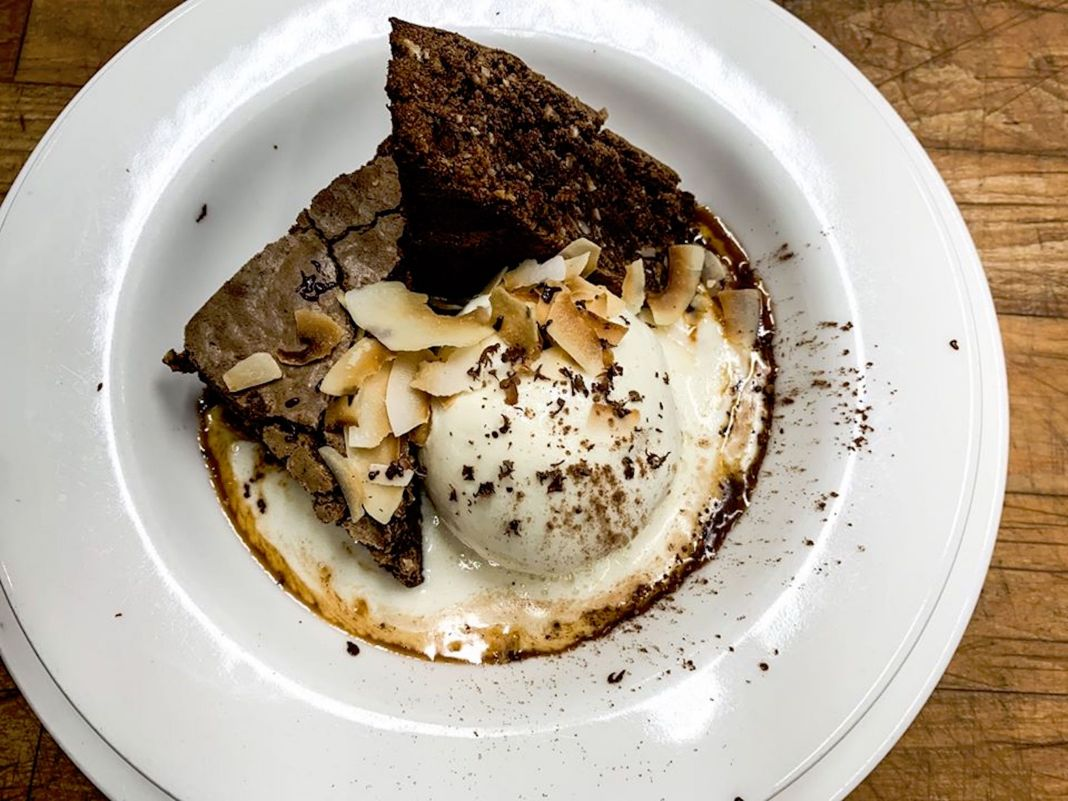 Farm to Table Restaurants in Skagit Valley Third Street Cafe Brownie