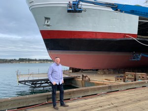 Port of Anacortes-Dan-Worra-at-Dry-Dock