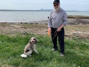 padilla bay shore trail skagit walks Charlie-and-Dickens-from-Linden