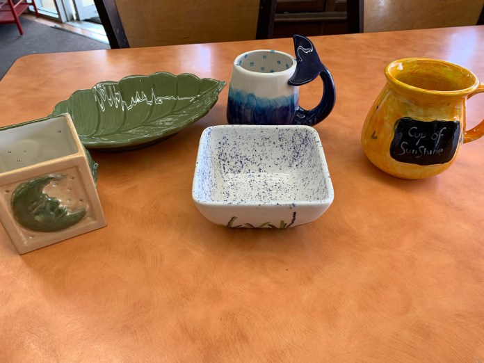 art classes skagit County johnny piccasso pottery