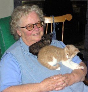 Anacortes Animal Relief Fund Barbara-and-Foster-Kittens