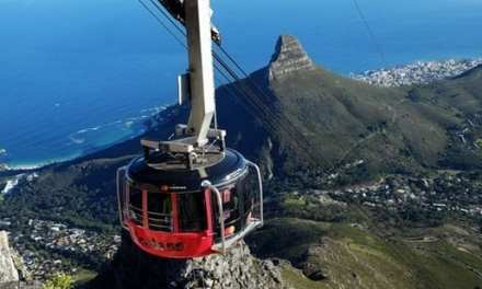 Table Mountain cable cars sports new branding