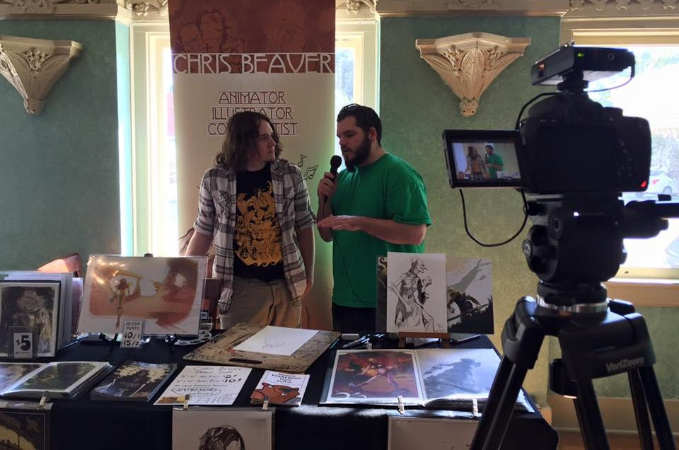 Artist is interviewed by Skaldic Media