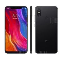 Xiaomi Mi 8 4G Phablet Global Version – BLACK