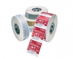 Label – Direkte Termo, Premium, Labels På Rulle, Termopapir, Kasse M/ 12 Ruller – (BxH) 57x76mm