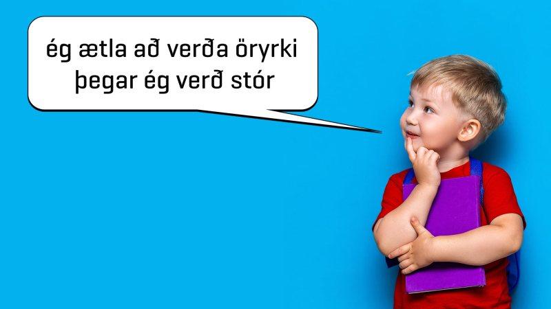 Afleiðing fátæktarstefnu leiðir til fjölgunar öryrkja