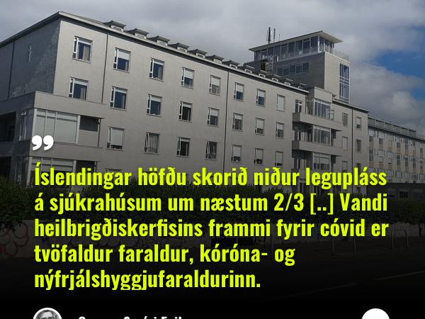 Fjársvelt heilbrigðiskerfi kallar á einkavæðingu