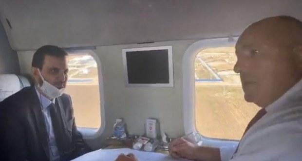 Бойко смени джипката с хеликоптер: 2500 работници строят Балкански поток