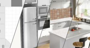 Кухня по проект у дома за осъществяване на интериорните мечти