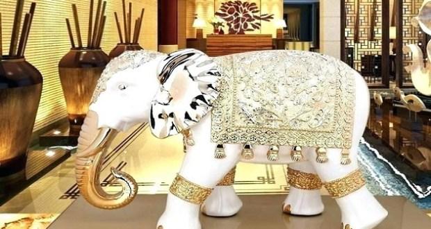 Фигурката на слона носи щастие в дома