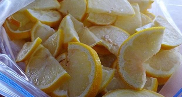 Замразеният лимон е по-мощен от химиотерапията помага при диабет тумори както и да отслабнете. Ето как да го използвате