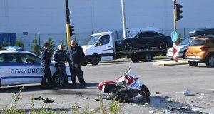 Шофьорът убил моторист в Стара Загора - друсан британец! И момиче бере душа