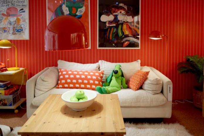 Sofa SIRIKIT z lat 70-tych, zaprojektowana przez Karin Mobring