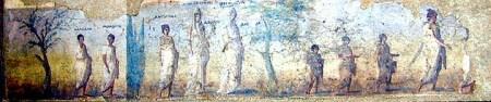 Procesion tumba Parentalias