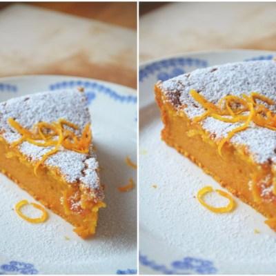 Apelsininis morkų pyragas