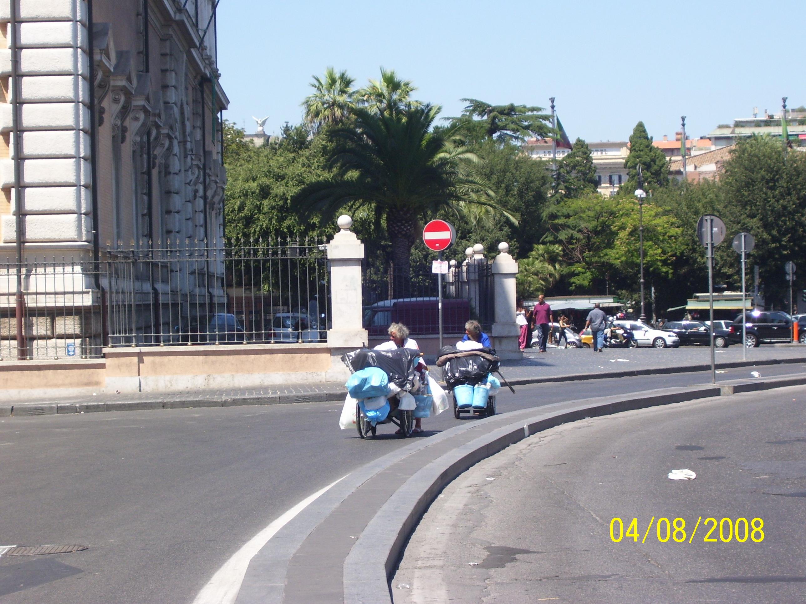 Dentro la nostra Europa e fuori dalla Televisione c'è anche questo, se lo teniamo fuori non c'è nessun allargamento    FOTO di Aldo Ciummo, Roma, 2008
