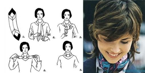 Как-завязать-платок-на-шее-12