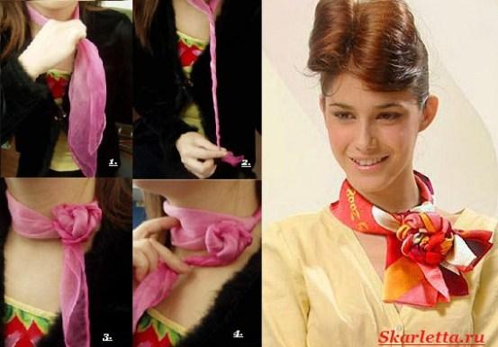 Как-завязать-платок-на-шее-37