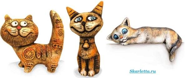 Статуэтки-кошек-8