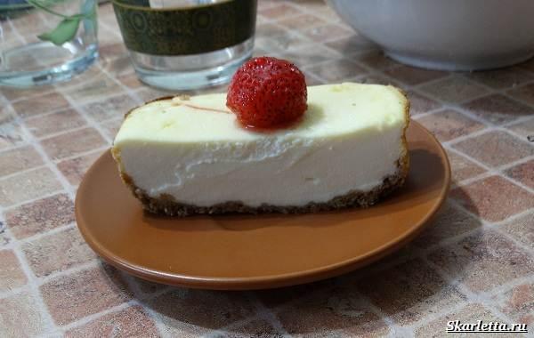 Сливочный-чизкейк-Легкий-вкусный-рецепт-9