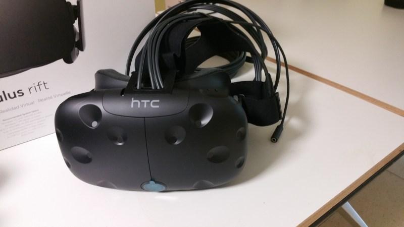 Vive triad sensor VR