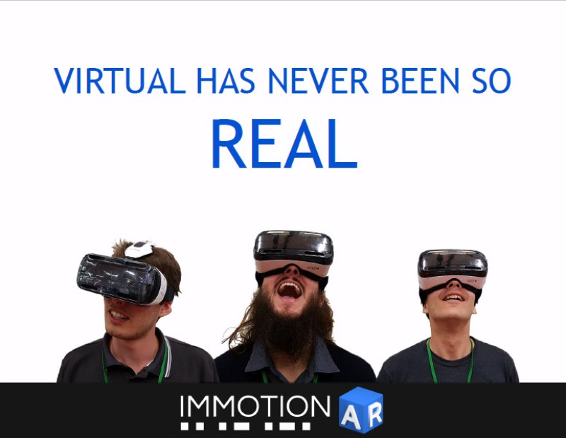 Immotionar full body vr startup
