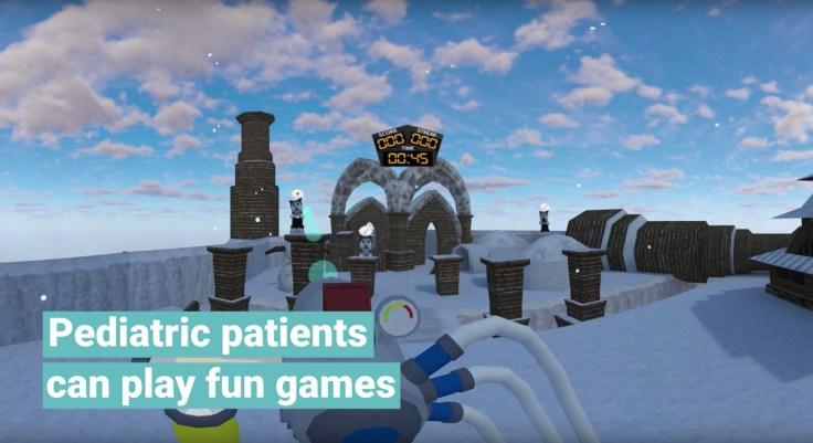 virtual reality healthcare anxiety stress