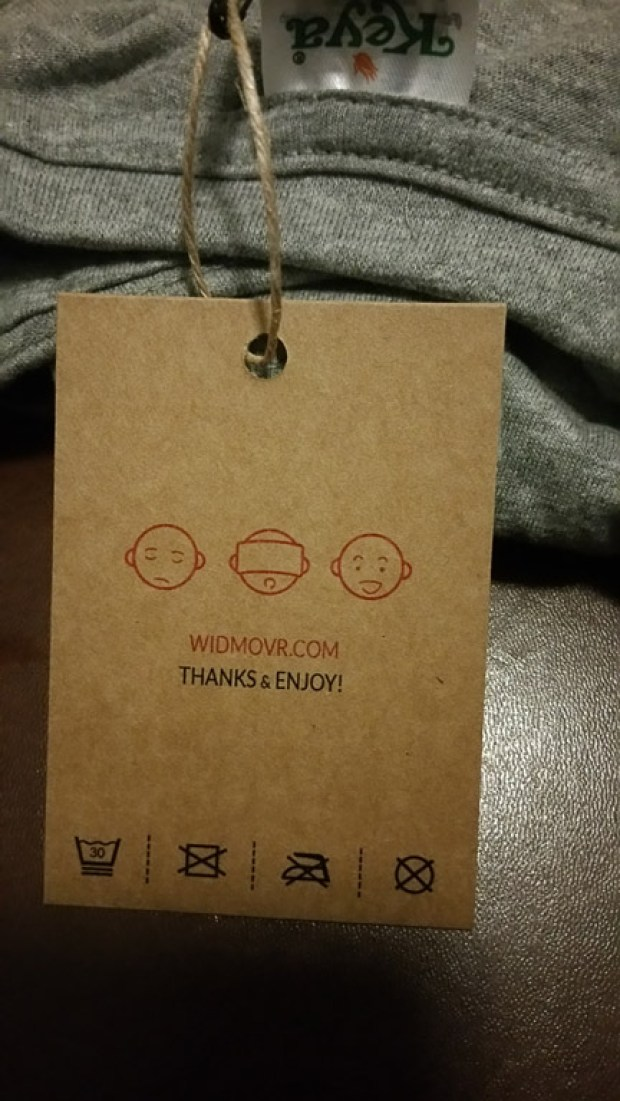 WIDMOvr VR t-shirt review