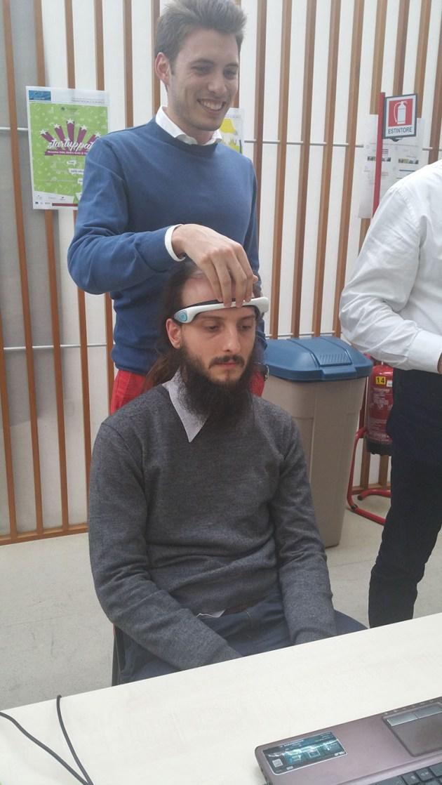 Brain Computer Interface VR