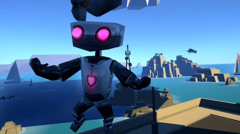VRobot robot indie game virtual reality review