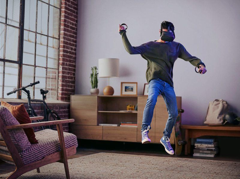 virtual reality oculus quest launch